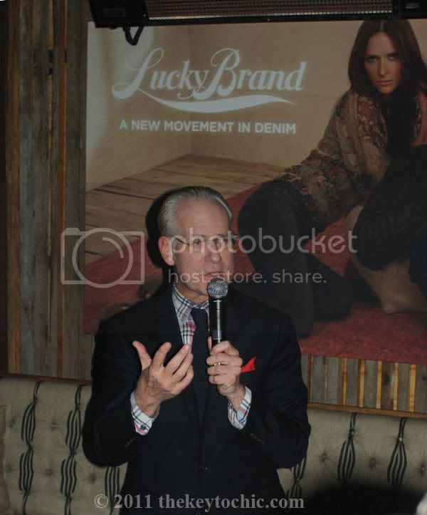 Lucky Brand New Movement in Denim event at Eveleigh, Tim Gunn