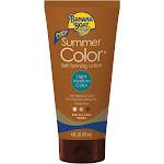 Banana Boat Summer Color Self-Tanning Lotion, Light/Medium Color - 6 fl oz