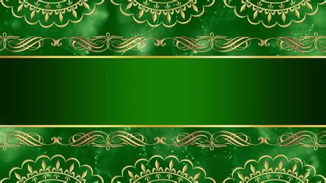 Wedding Invitation Card Design Intro Title Green