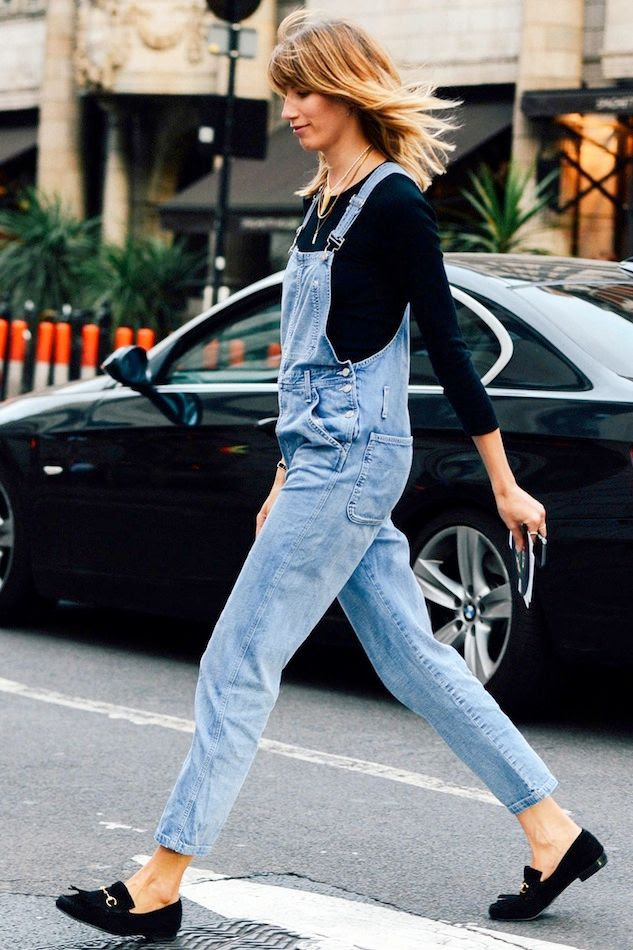 Le Fashion Blog London Street Style Veronika Heilbrunner Denim Overalls Suede Loafers Via Tommy Ton Style Com photo Le-Fashion-Blog-London-Street-Style-Veronika-Heilbrunner-Denim-Overalls-Suede-Loafers-Via-Tommy-Ton-Style-Com.jpg