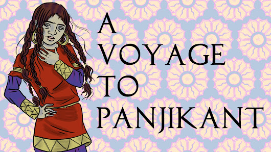 A Voyage to Panjikant: A graphic novel about the Silk Road