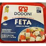 Dodoni Feta Cheese in brine Premium Authentic Greek Feta Cheese 7.7lb