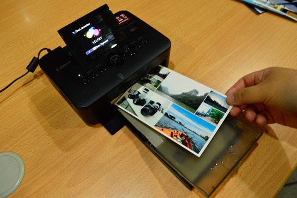 Canon Selphy Cp910 A Fun Mobile Photo Printer For Instant On The Go