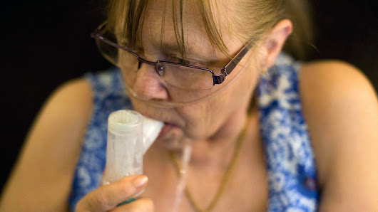 Many COPD Patients Struggle To Pay For Each Breath