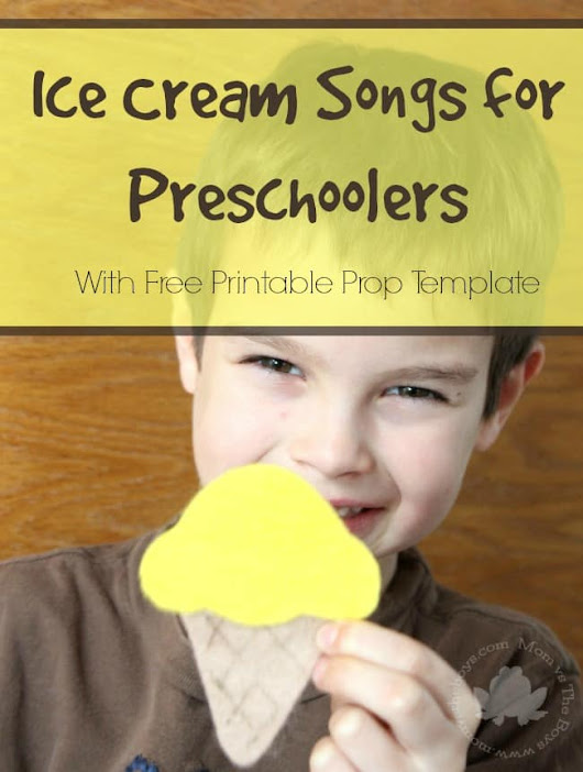 Ice Cream Songs for Preschoolers - Mom vs the Boys