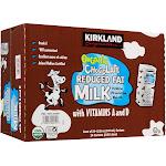 Kirkland Signature Organic Milk, Chocolate - 24 pack, 8.25 fl oz oz cartons