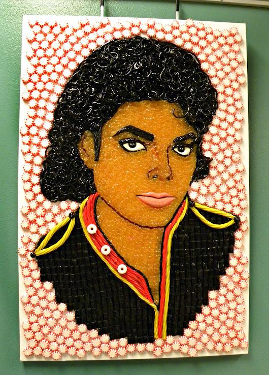 Believe it or Not: Candy Michael Jackson, Tarantula Art, and Robin Williams Immortalized in Toothpaste