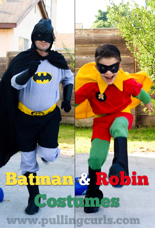 Batman and Robin Costumes » Pulling Curls