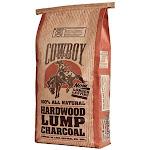 Cowboy 24220 All-natural Hardwood Lump Charcoal, 20 Lb