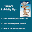 Publicity Tips–Free Screen-capture Video Tool