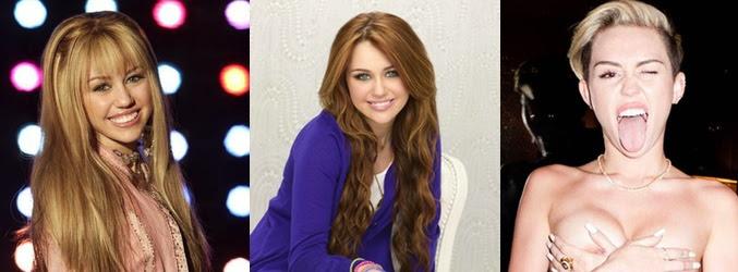 Evolución de la imagen de Miley Cyrus desde 'Hannah Montan' hasta la actualidad