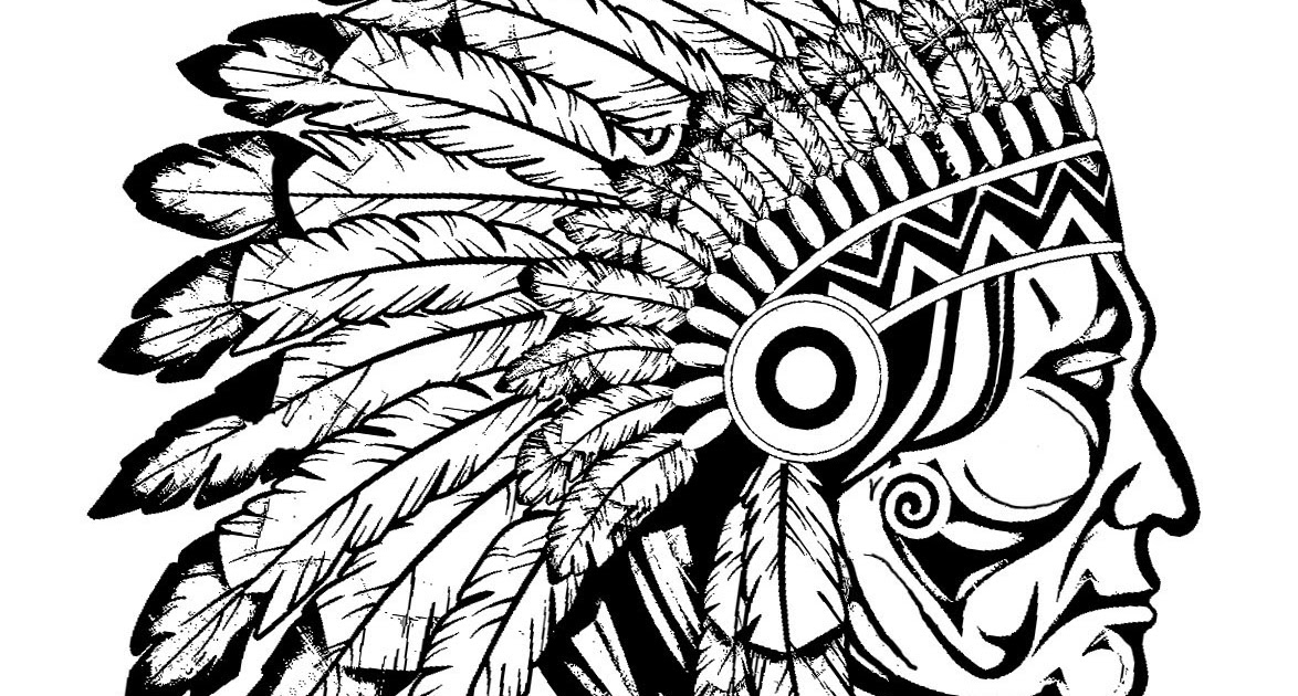 95 EASY COLORING PAGES FOR ADULTS NATIVE AMERICAN ...