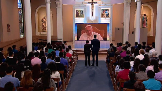 Video: Virtual Audience With Pope Francis Before His Trip to the United States