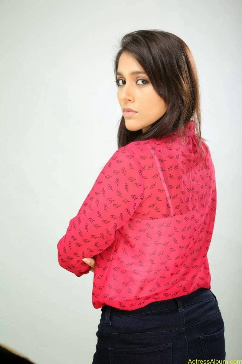 Rashmi Gautam Hot pink dress 7