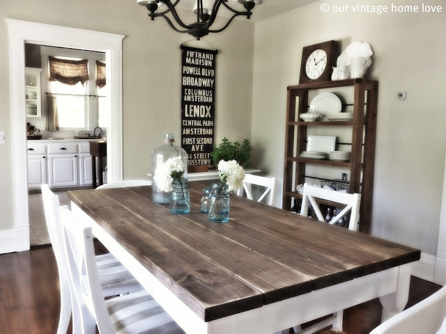DIY Farm Table Projects - Bob's Blogs