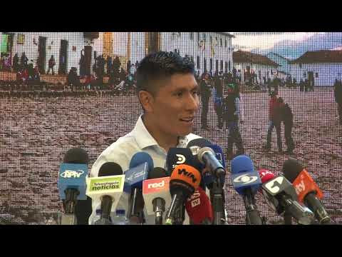 Nairo Quintana presenta la nueva edición de su Gran Fondo