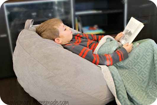 How to Create a Reading Nook to Get Kids to Read More - Mainly Homemade
