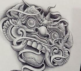 Sketsa Tato Batik Di Tangan