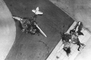 Israel's June 5, 1967 surprise attack on Egypt resulted in the obliteration of Egypt's air force while most of its planes were still on the ground.