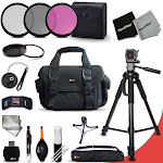 Essential 19 Piece Accessory Kit for Canon EOS Rebel T5, Rebel T5i, Rebel T4i...