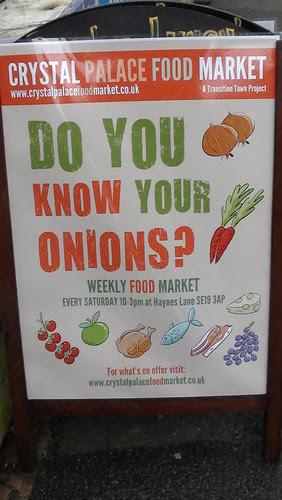 Crystal Palace food market May 13 2