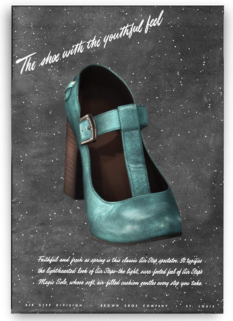 Shoetopia 2013: Vintage T-Strapped.