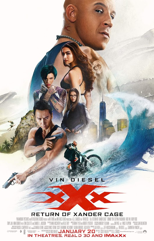 Gana Boletos para ver XXX Return of Xander Cage • yosoyraza