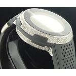 Gucci New Mens Custom Diamond Watch I- YA114103 Orange Digital Face 49 mm, Men's, Size: Regular