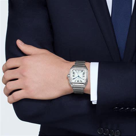 Santos de Cartier in Steel ? Large Model ? Men?s Watch