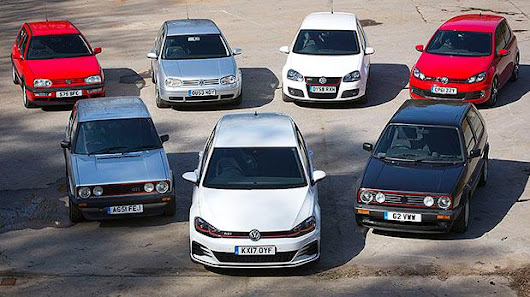 VW Golf GTI – we drive all seven generations of the legendary hot hatch