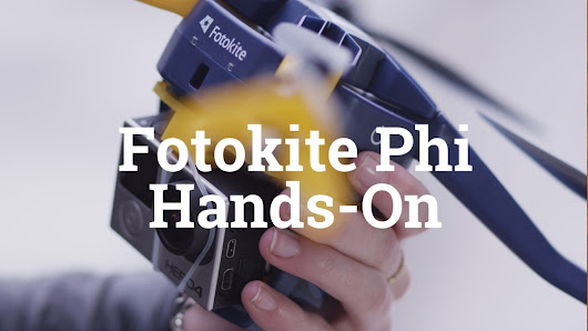 Hands-On with the Fotokite Phi Drone