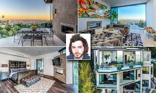 YouTube star buys luxury mansion in Hollywood Hills for $4.5million