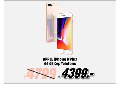 Apple iPhone 8 Plus 64GB Cep Telefonu 4399TL