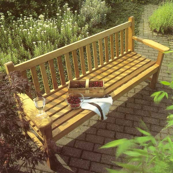 Barlow Tyrie London Seat (180) Garden Furniture UK