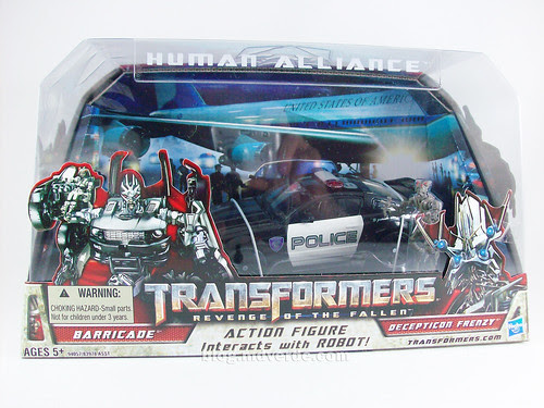 Transformers Barricade Human Alliance RotF - caja