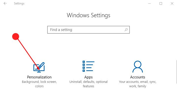 How to Set Custom Colour Desktop Background in Windows 10 image 1