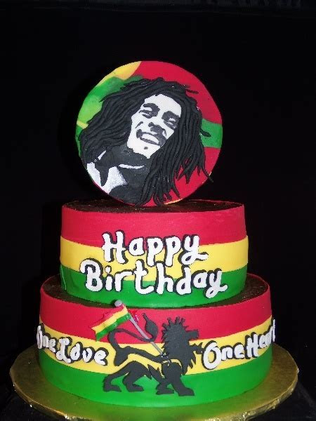 7 best images about Bob marley cakes on Pinterest   Cake