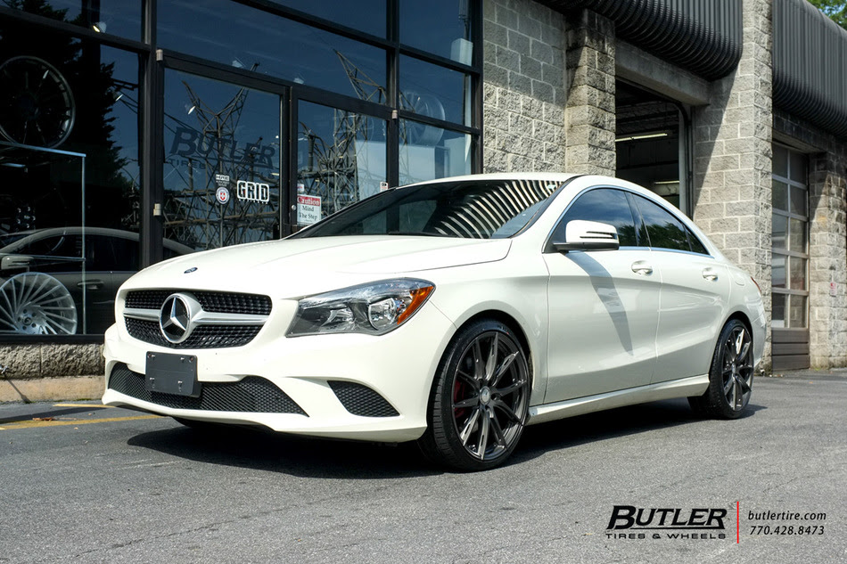 Mercedes Cla With 19in Tsw Sprint Wheels Exclusively From Butler Tires And Wheels In Atlanta Ga