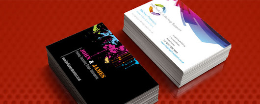 Print or edit business cards online.  | Flyerzone