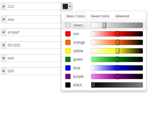 jQuery Color Palette Plugins | jQuery Script