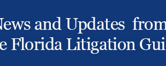 Only 7 Days Left Until Florida Litigation Guide Price Increase - Lock In Now