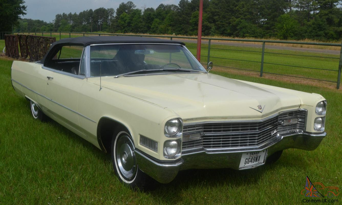 1966 Cadillac DeVille Convertible * Well-Preserved*