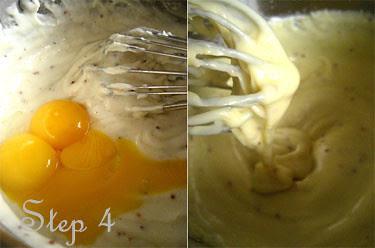 egg yolks and sauce