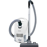 Miele Compact C1 Pure Suction PowerLine SCAE0 Canister Vacuum - Lotus White