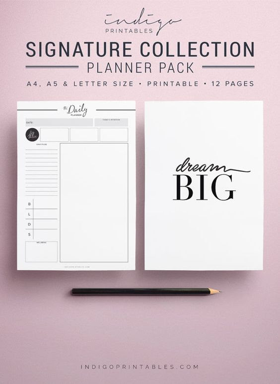 Planners, Monthly planner and Daily planners on Pinterest