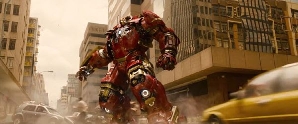 The Hulkbuster suit will see action against the Hulk in 2015's AVENGERS: AGE OF ULTRON.