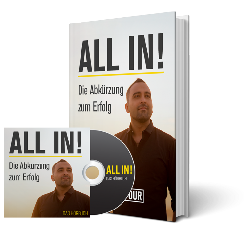 WM Sonderaktion - ALL IN Buch + Hörbuch - Digistore24