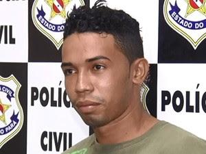 Luan Rafael Medeiros conhecido como 'Beiçola' fugiu durante a madrugada (Foto: Reprodução/TV Tapajós)