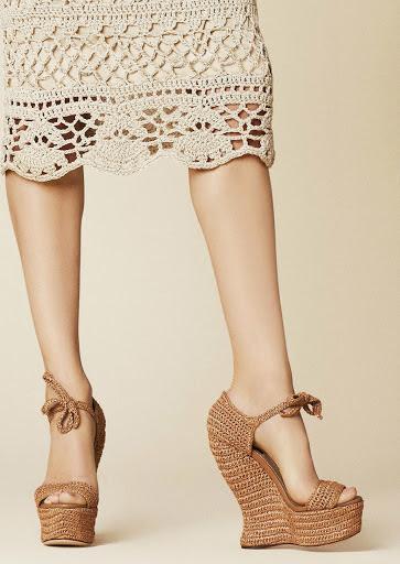Dolce&Gabbana 2013 Crochet Skirt 1