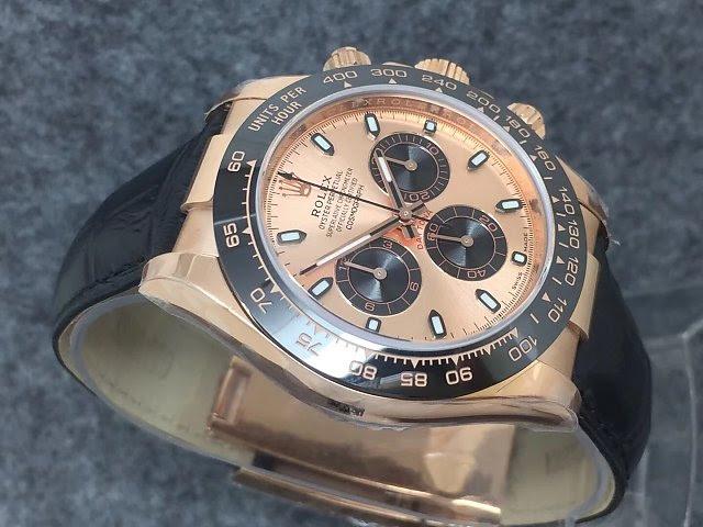 Noob Replica Rolex Daytona Rose Gold Watch